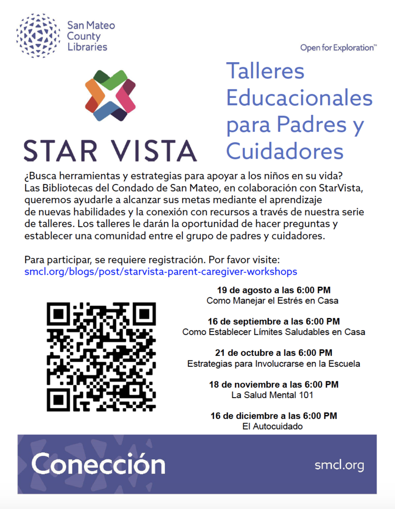 Star Vista Parent Workshops